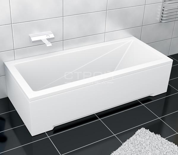Белая ванна Besco Modern (120, 130, 140, 150, 160, 170)