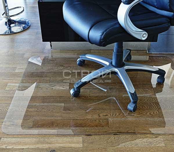 Коврик под офисное кресло из поликарбоната  1,5 мм