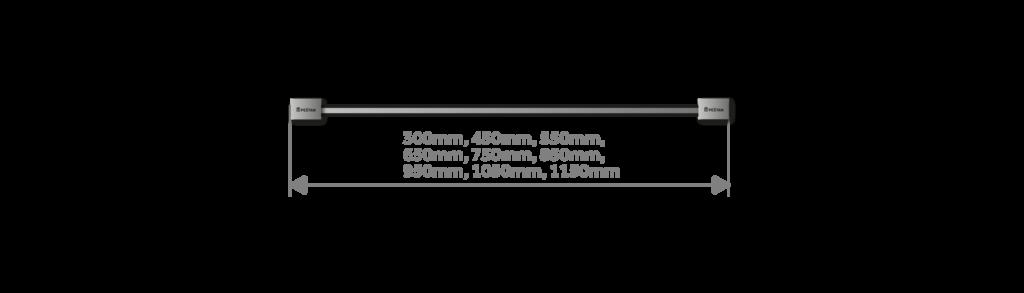 Размеры трапа Confluo Premium Slim Line.