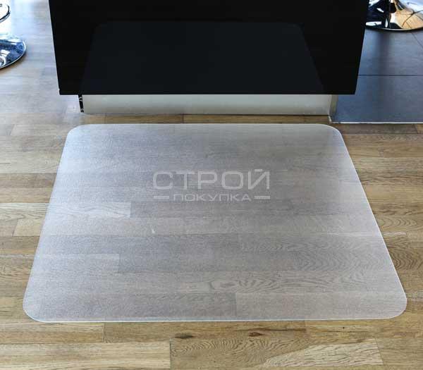 Коврик под офисное кресло из поликарбоната  1,8 мм