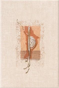 Антарес 3 20х30 декор настенный оранжевого цвета