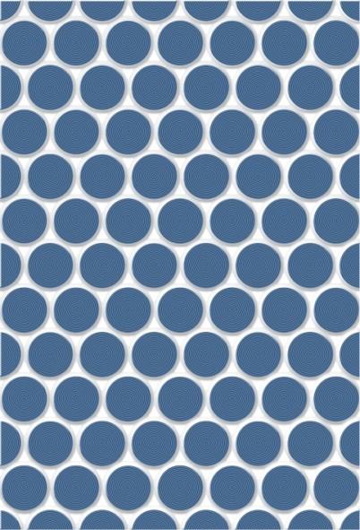 Блэйз 2Т 27,5х40 настенная плитка синего цвета