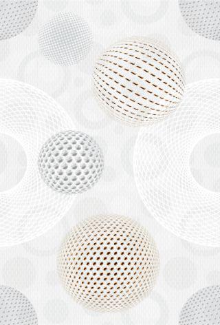 Диско 7 Панно 20х30 декор настенный белого цвета с абстракцией