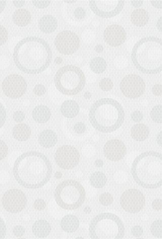 Диско 7С 20х30 настенная плитка белого цвета с кругами