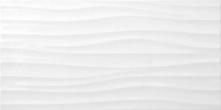 Дюна 7С 30х60 настенная плитка белого цвета
