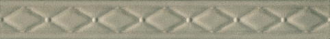 Дамаск 2 27,5х3 бордюр серо-зеленого цвета
