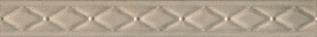 Дамаск 3 27,5х3 бордюр бежевого цвета