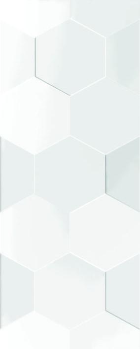 Настенная плитка Даймонд 7С белый