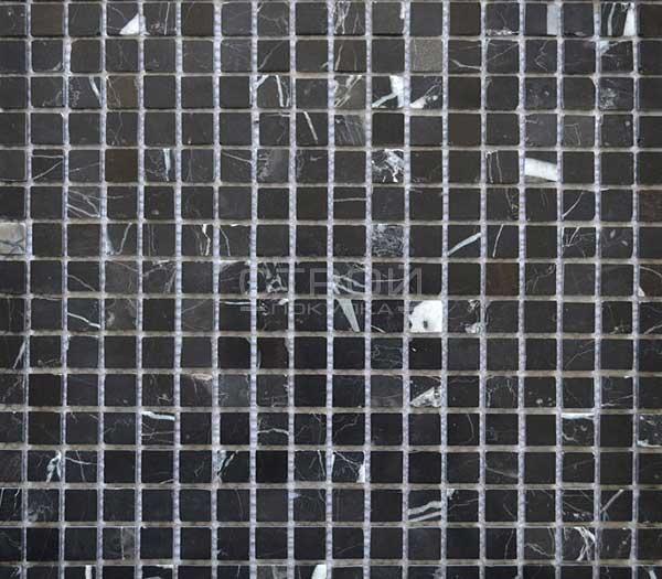 KG-03P Мозаика черная каменная натуральная