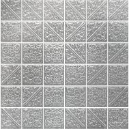 21051 | Ла-Виллет металл прессованная мозаика 30,1х30,1 см