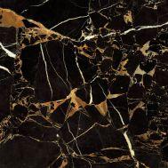 Сен Лоран / Saint Laurent black 60,4х60,4 см напольная плитка глянцевый блеск