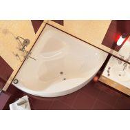 Indiana 140 акриловая угловая ванна от Alpen
