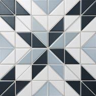 Albion Star Blue керамическая мозаика завода StarMosaic