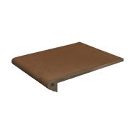 Ступень фронтальная коричневая 25x33 см скала