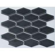 Темно-серая керамическая мозаика R-316 NsMosaic серии Rustic