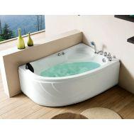 Gemy G9009  B R акриловая ванна гидромассажная
