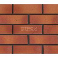 Гибкий клинкер оранжевый терракот с красным градиентом B1 24х8 см Кералин