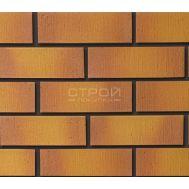 Гибкий клинкер соломенный с оранжевым градиентом B3 24х8 см Кералин