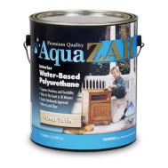 Полиуретановый лак на водной основе для внутренних работ Aqua ZAR® Water-Based Polyurethane