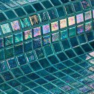 Мозаика Iris Jade - темно-зелёный перламутр