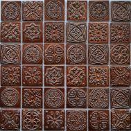 Мозаика KG4801 коричневая