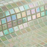 Мозаика Iris Marfil - бледно желтая перламутровая