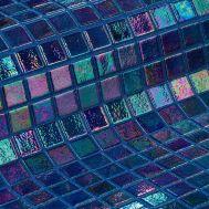 Мозаика Iris Zafiro синяя перламутровая