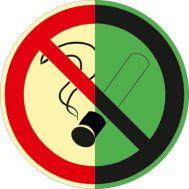 Светящийся знак не курить
