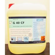 Моющее средство для промышленных посудомоечных машин, не содержит хлора G 40 CF