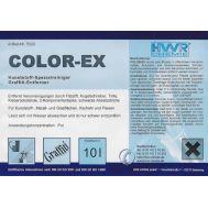 Color-EX для удаления граффити, растворитель красок.