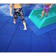Резиновая плитка Rubblex Pool для бассейнов