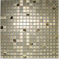 Золотая металлическая мозаика