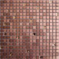 розовая мозаика из алюминия