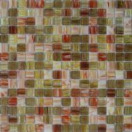 Микс мозаики JS04 бежевого и красного цветов