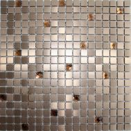 Металлическая мозаика со стразами