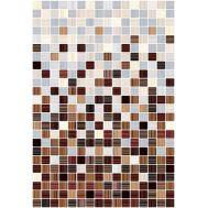 Гламур 3С 27,5х40 настенная плитка микс бежевого и коричневого цвета