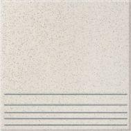 0645 30х30 ступень белого цвета соль-перец