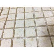 Мозаика из натурального матового камня