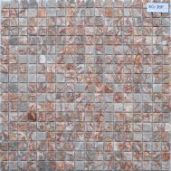 Мозаика под мрамор из натурального камня