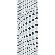 Иллюзия Панно 20х50 декор настенный черно-белого цвета с 3D эффектом