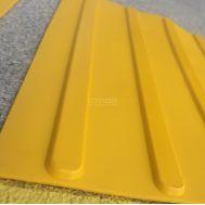 Тактильная плитка ПУ полоса для применения на улице