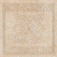 Декоративная клинкерная вставка Stone Cuadro Ocre 33x33 см