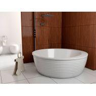 Boomerang Vayer круглая ванна из акрила в интерьере