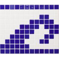 Стеклянная мозаика, Cenefa Olas 100/803 P, Панно