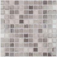 Lux 418 серая Grey высокоглянцевая мозаика Vidrepur