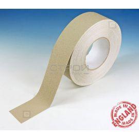 Бежевая виниловая противоскользящая лента Aqua Safe, Длина: 18,3 метра, Ширина: 2,5; 5; 10 см