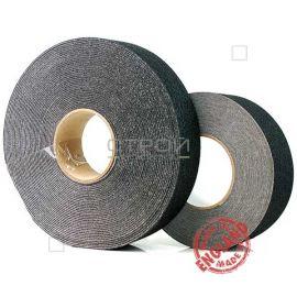 Рулоны черной противоскользящей ленты, шириной 2,5 и 5 см, длиной 18 м