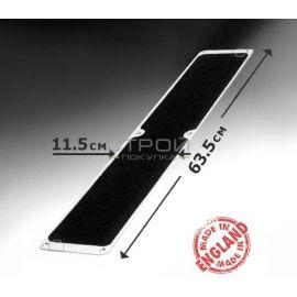 Черная противоскользящая пластина 63,5x11,5 см.