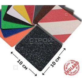 Квадрат противоскользящий 10х10 см разных цветов
