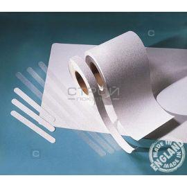 Белая виниловая противоскользящая лента Aqua Safe, Длина: 18,3 метра, Ширина: 2,5; 5; 10 см